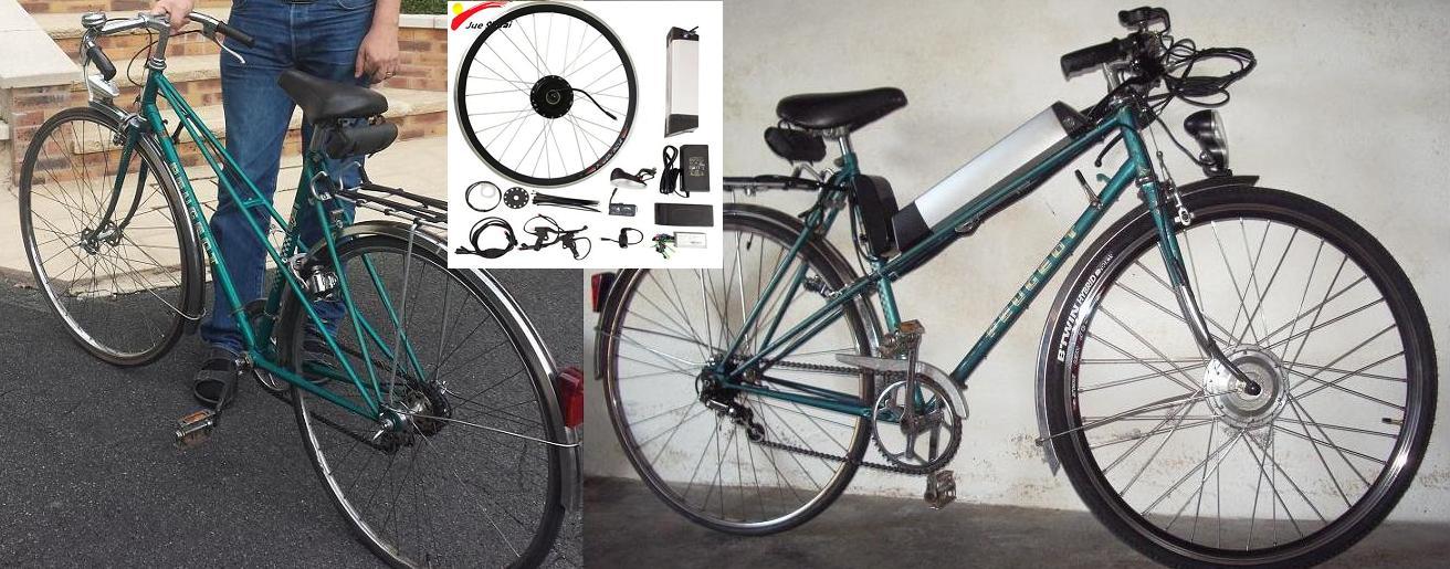 E bike frnt
