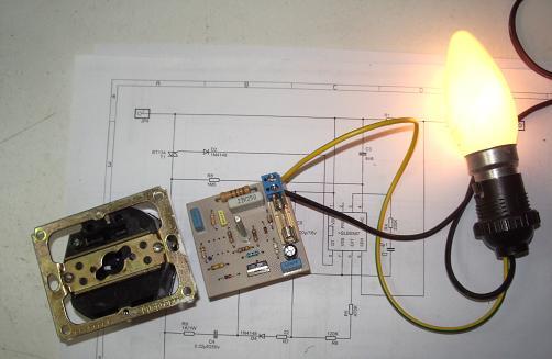 Gradateur lamp